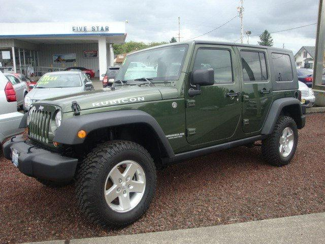 2008 jeep wrangler unlimited rubicon for sale in aberdeen washington classified. Black Bedroom Furniture Sets. Home Design Ideas