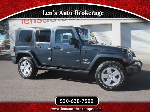 2008 Jeep Wrangler Unlimited Sahara 4x4 Sahara 4dr SUV
