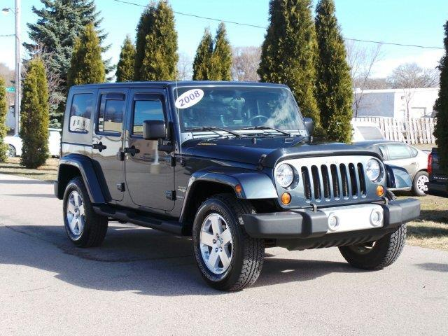 2008 jeep wrangler unlimited sahara 4x4 sahara 4dr suv w side airbag package for sale in. Black Bedroom Furniture Sets. Home Design Ideas