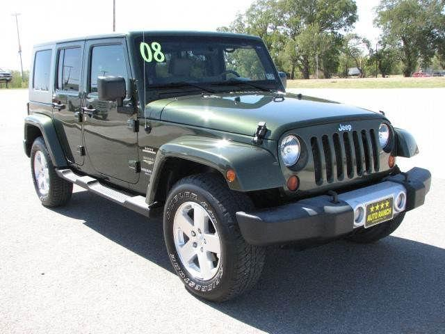 2008 jeep wrangler unlimited sahara for sale in henrietta texas. Cars Review. Best American Auto & Cars Review
