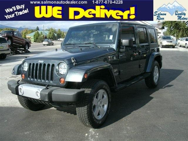 2008 jeep wrangler unlimited sahara for sale in salmon idaho. Cars Review. Best American Auto & Cars Review