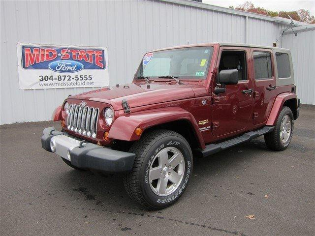 2008 jeep wrangler unlimited sahara for sale in summersville west. Cars Review. Best American Auto & Cars Review