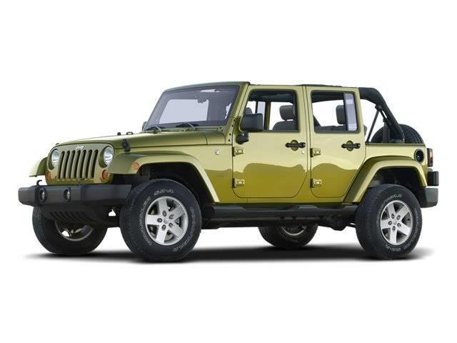 2008 Jeep Wrangler Unlimited X 4x2 X 4dr SUV