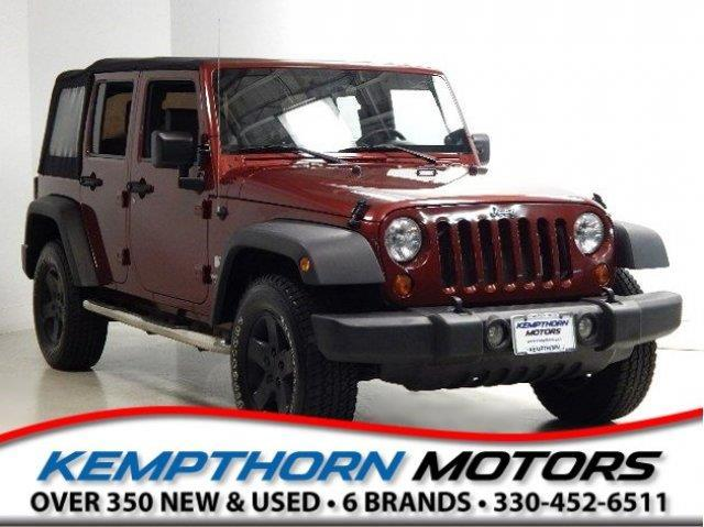 2008 Jeep Wrangler Unlimited X 4x4 X 4dr SUV