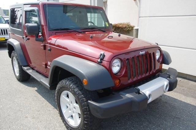 2008 jeep wrangler x 4x4 x 2dr suv for sale in arlington washington classified. Black Bedroom Furniture Sets. Home Design Ideas