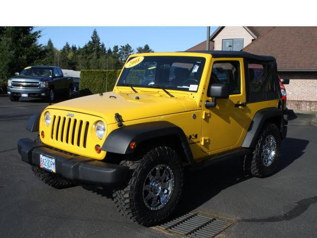 2008 jeep wrangler x for sale in sandy oregon classified. Black Bedroom Furniture Sets. Home Design Ideas