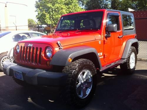 2008 jeep wrangler x right hand drive hard top for sale in gresham oregon classified. Black Bedroom Furniture Sets. Home Design Ideas