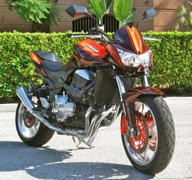 2008 Kawasaki Z1000 - Free Delivery - Only 2.5k miles