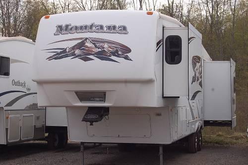 2008 Keystone Montana 3485sa Triple Slide Fifth Wheel Rv