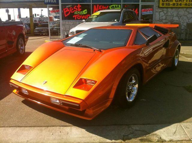2008 Lamborghini Countach Replica Runs Great Sale For Sale In