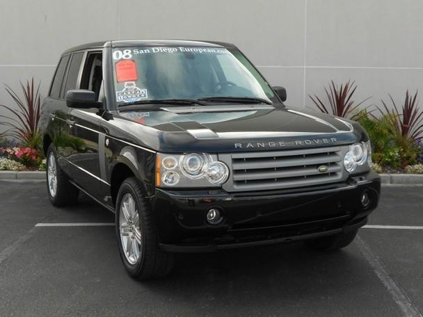 2008 Land Rover Range Rover Hse For Sale In San Diego