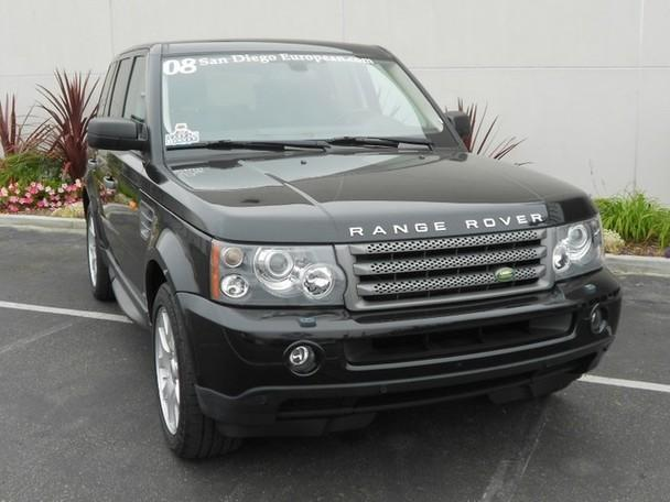 2008 land rover range rover sport hse luxury equipped for sale in san diego california. Black Bedroom Furniture Sets. Home Design Ideas