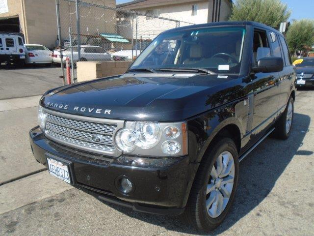 2008 Land Rover Range Rover Supercharged 4x4