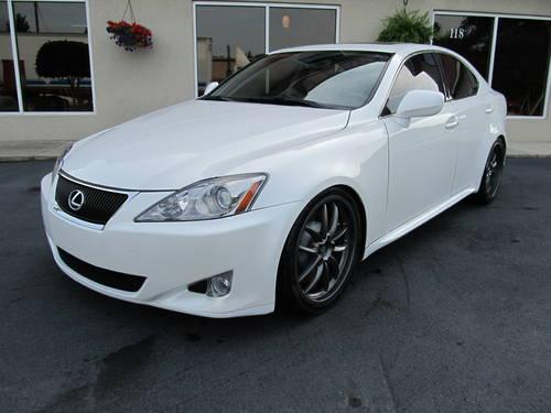2008 lexus is350 w f sport package 1 owner clean carfax w 59k mi for sale in guthrie north. Black Bedroom Furniture Sets. Home Design Ideas