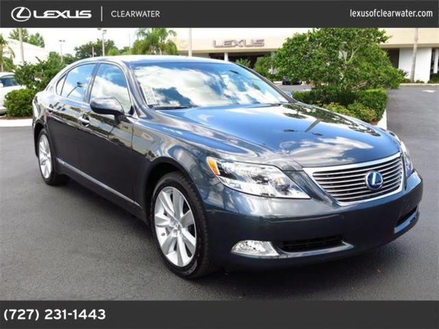 2008 lexus ls 600h l for sale in clearwater florida. Black Bedroom Furniture Sets. Home Design Ideas