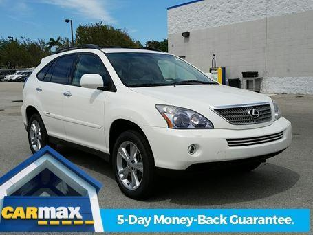 2008 lexus rx 400h base awd 4dr suv for sale in pompano. Black Bedroom Furniture Sets. Home Design Ideas
