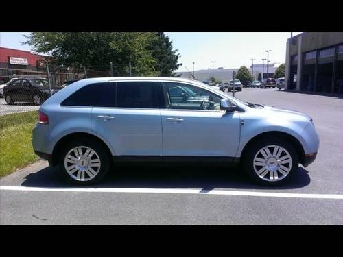 2008 lincoln mkx suv for sale in frederick maryland. Black Bedroom Furniture Sets. Home Design Ideas