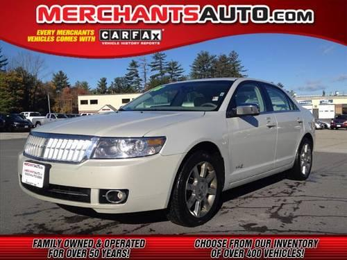 2008 lincoln mkz sedan awd awd for sale in manchester new hampshire classified. Black Bedroom Furniture Sets. Home Design Ideas