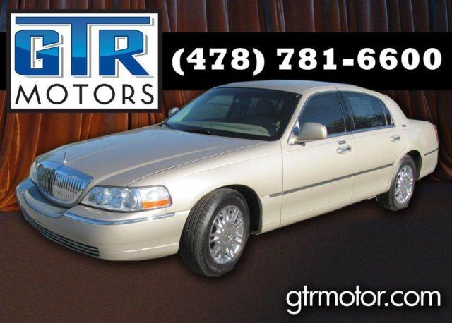 2008 lincoln town car signature limited for sale in macon georgia classified. Black Bedroom Furniture Sets. Home Design Ideas