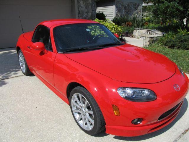 2008 mazda miata mx 5 grand touring true red auto 42k for sale in tampa florida classified. Black Bedroom Furniture Sets. Home Design Ideas