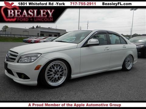 2008 mercedes benz c class 4 door sedan for sale in york for 2008 mercedes benz c class c300 for sale