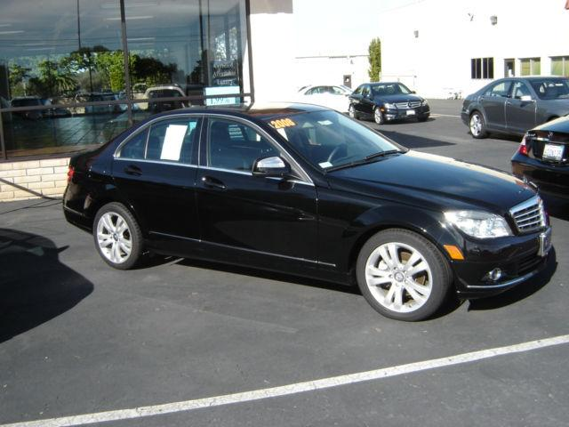 2008 mercedes benz c class c300 luxury for sale in san luis obispo california classified. Black Bedroom Furniture Sets. Home Design Ideas