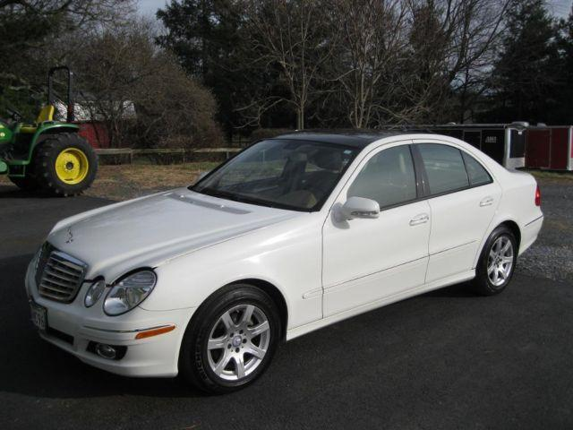 2008 mercedes benz e class 320 cdi diesel white 12 000 miles for sale in boyds maryland. Black Bedroom Furniture Sets. Home Design Ideas
