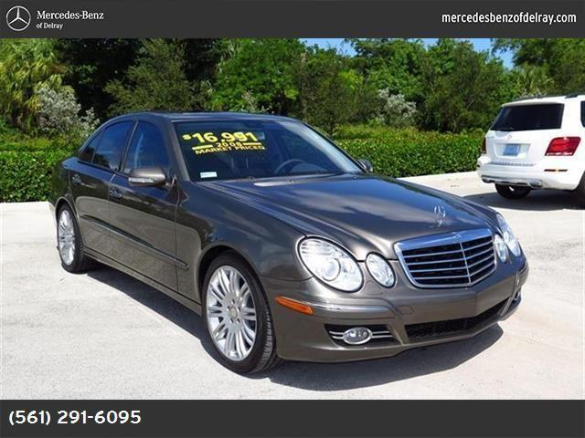 2008 mercedes benz e class for sale in delray beach