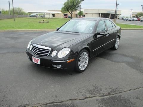 2008 mercedes benz e class rear wheel drive 4 door sedan for Mercedes benz wichita falls