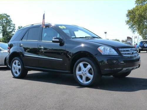 2008 Mercedes Benz M Class Suv Ml350 For Sale In Fairless