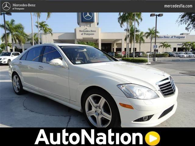 2008 mercedes benz s class for sale in pompano beach for Mercedes benz of pompano