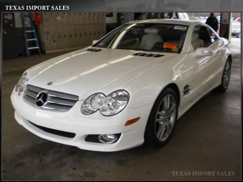 2008 mercedes benz sl class convertible sl550 v8 for sale for Mercedes benz dallas for sale