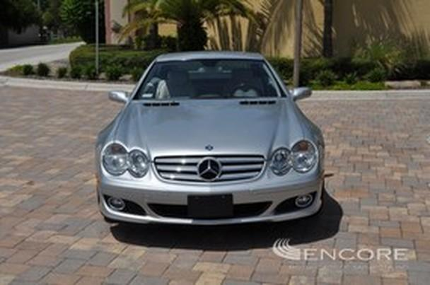 2008 mercedes benz sl600 v12 roadster for sale in sarasota. Black Bedroom Furniture Sets. Home Design Ideas