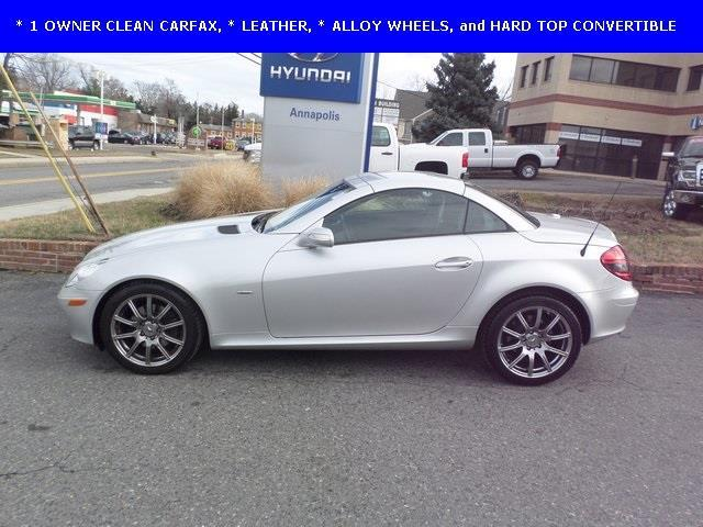 2008 mercedes benz slk slk 280 slk 280 2dr convertible for sale in annapolis maryland. Black Bedroom Furniture Sets. Home Design Ideas