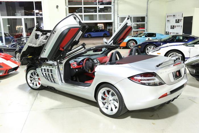 2008 Mercedes-Benz SLR McLaren 2dr Roadster