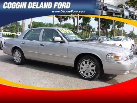 2008 MERCURY GRAND MARQUIS 4 DOOR SEDAN