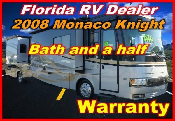 2008 monaco knight 40 dft for sale in port charlotte florida classified. Black Bedroom Furniture Sets. Home Design Ideas