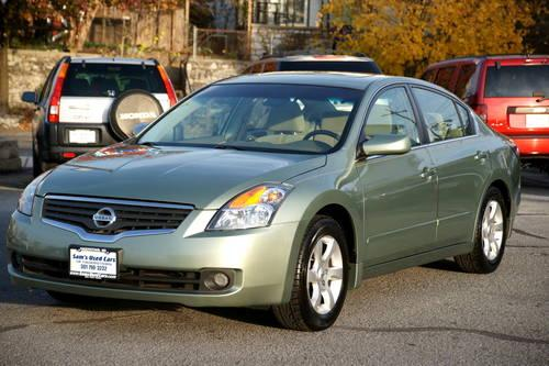 2008 Nissan Altima 2 5s Auto Green 74k Miles For Sale In