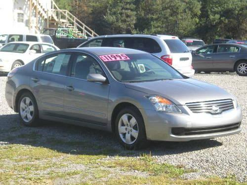 2008 nissan altima 2 5s silver 4cyl cvt transmission fwd. Black Bedroom Furniture Sets. Home Design Ideas