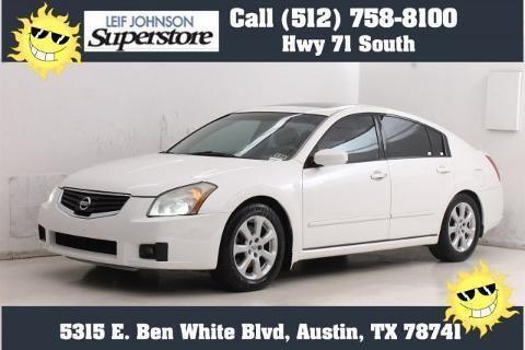 2008 Nissan Maxima 4 Door Sedan For Sale In Buda Texas