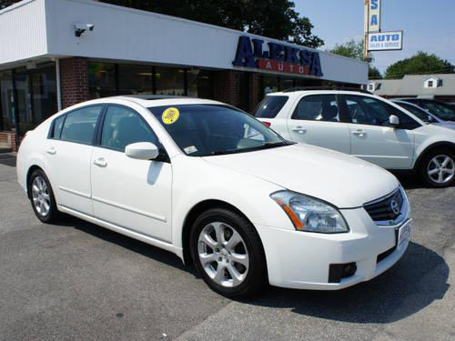 2008 nissan maxima 4 dr sedan 3 5 sl for sale in salem new hampshire classified. Black Bedroom Furniture Sets. Home Design Ideas