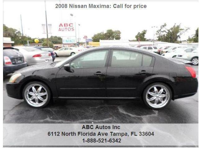 2008 nissan maxima buy here pay here for sale in tampa florida classified. Black Bedroom Furniture Sets. Home Design Ideas