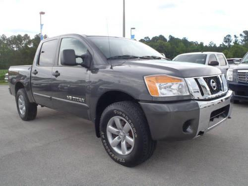 2008 nissan titan crew cab 4x4 se for sale in neuse forest north carolina classified. Black Bedroom Furniture Sets. Home Design Ideas