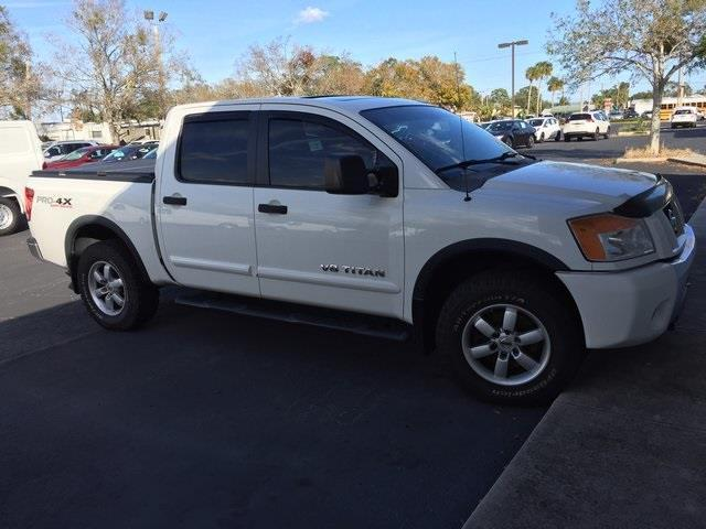 2008 nissan titan le 4x4 le 4dr crew cab swb for sale in titusville florida classified. Black Bedroom Furniture Sets. Home Design Ideas