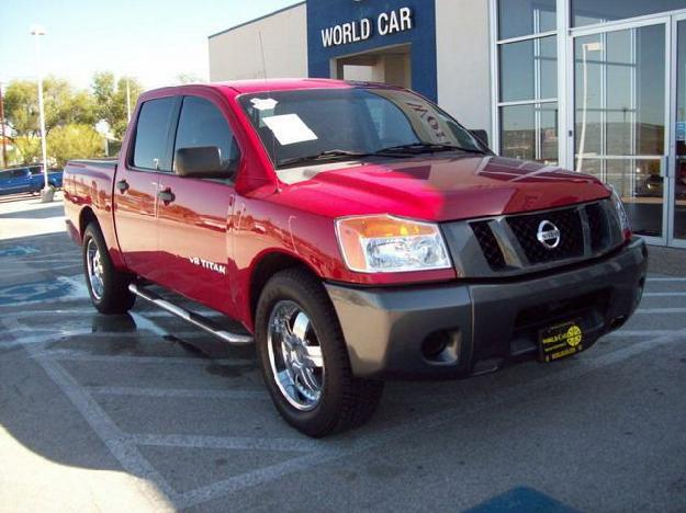2008 nissan titan se for sale in new braunfels texas classified. Black Bedroom Furniture Sets. Home Design Ideas