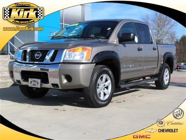 2008 nissan titan se ffv 4x4 se ffv 4dr crew cab swb for sale in fairfield tennessee classified. Black Bedroom Furniture Sets. Home Design Ideas