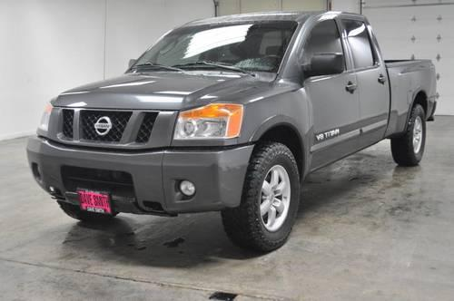 2008 nissan titan truck 4x4 pro 4x crew cab for sale in kellogg idaho classified. Black Bedroom Furniture Sets. Home Design Ideas