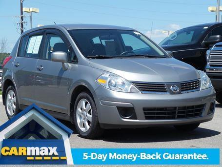 2008 nissan versa 1 8 s 1 8 s 4dr hatchback 6m for sale in knoxville tennessee classified. Black Bedroom Furniture Sets. Home Design Ideas