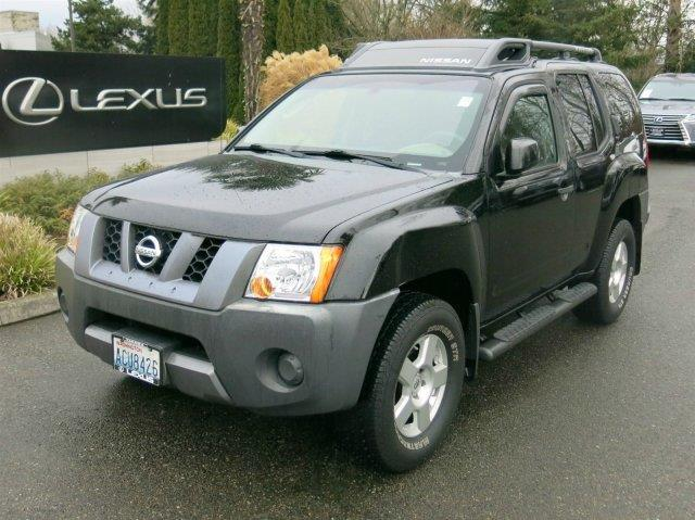 2008 nissan xterra s 4x4 s 4dr suv 6m for sale in tacoma washington classified. Black Bedroom Furniture Sets. Home Design Ideas