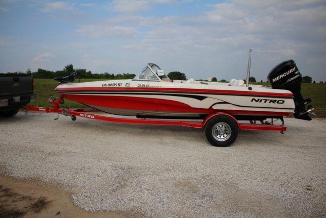 2008 nitro 288 sport 20 39 fish ski boat for sale in for Nitro fish and ski